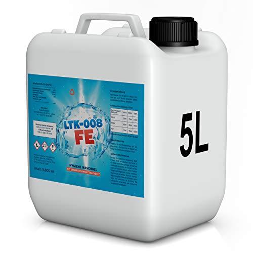 BioFormel LTK008 FE | Hygiene Waschmittel | Desinfektionswaschmittel | Wirkt desinfizierend für Ihre Kleidung | 5 L Konzentrat | Made in Germany