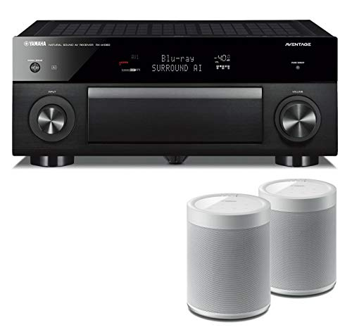 Great Features Of Yamaha RXA1080 7.2-Channel AV Network Receiver Bundle with Yamaha MusicCast 20 Wir...