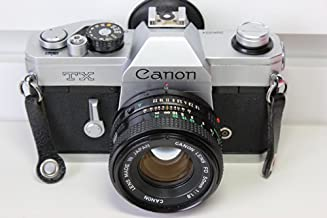 Canon TX 35mm Film Camera with Canon FD 50mm Lens