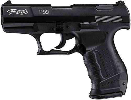 Walther Softair P99 mit Maximum 0.08 Joule, schwarz, M