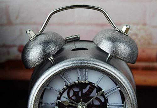 Elektronische Alarm Klokken Mechanische & Wind-Up Klokken Mechanische en wind tot klok grote ringtones mute creatieve wekker kinderen slaapkamer bed eenvoudige minimalistische wekker