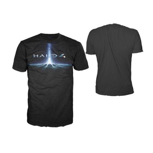 Halo 4 T-Shirt -XL- Cover Logo, schwarz