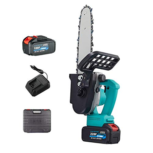 N/Q Electric Chainsaw,12-inch Handheld Electric Chainsaw With Brushless...