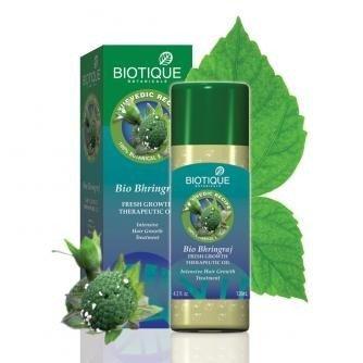 Biotique Intensive Hair Growth Treatment (120ml * 2 Pcs, Bhringraj Hair Oil) by Biotique(Ship from India)