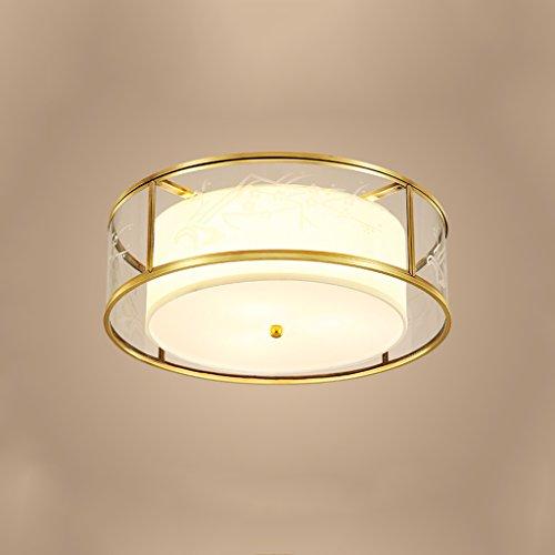 No Band Creative Verstelbare hanglamp, rond, antiek, koper, lamp, waterdicht voor balkon 410