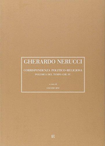 Gherardo Nerucci. Corrispondenza politico-religiosa