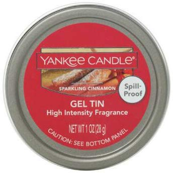 Yankee Candle SPARKLING CINNAMON High Intensity Fragrance Gel Tin 1 Ounce