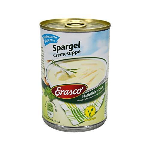 Erasco Spargel Cremesuppe , 3er Pack (3 x 390 ml Dose)