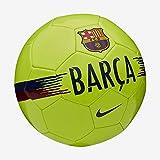 Nike FC Barcelona Supporters Fußball, Volt/Noble Red/Deep Royal Blue, 5