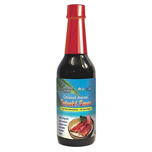 Coconut Secret, Coconut Aminos, Teriyaki Sauce, 296 ml, glutenfrei