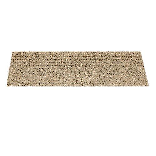 Kettelservice-Metzker Outdoor - Sicherheitsstufenmatte - Außenstufenmatte (Beige Sand ohne Alu Kante) 1 Stück