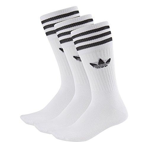 adidas solid crew socks 35-38