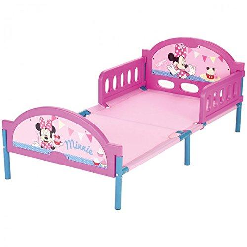Unbekannt Disney Minnie Mouse Bett 140x70 cm Kinderbett Kinderzimmer Mädchen Zimmer Metall Kunststoff