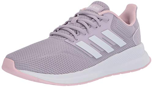 adidas - Zapatillas de correr para mujer Runfalcon, morado (Mauve/Ftwr Blanco/Rosa Claro), 42 EU