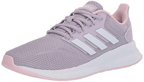 adidas - Zapatillas de correr para mujer Runfalcon, morado (Mauve/Ftwr Blanco/Rosa Claro), 35 EU