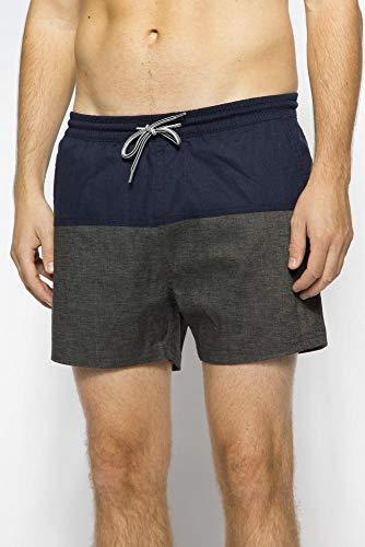 Hemp Jam Short Boardshort Größe: M Farbe: H. D. Gray / Dark Navy