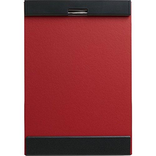 キングジムクリップボードマグフラップ用箋挟み赤A4短辺綴じ5085アカ