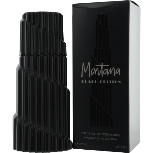 Montana Black Edition Eau De Toilette Spray 125Ml