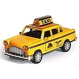 Maquetas de Coches 1:32 Ford Taxi Modelo De Aleación para Niños Juguetes Diecast Car Hot Wheels Niños