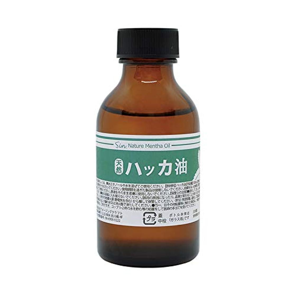 に渡って振り返る協定日本製 天然ハッカ油(ハッカオイル) 100ml 中栓?スポイト付き