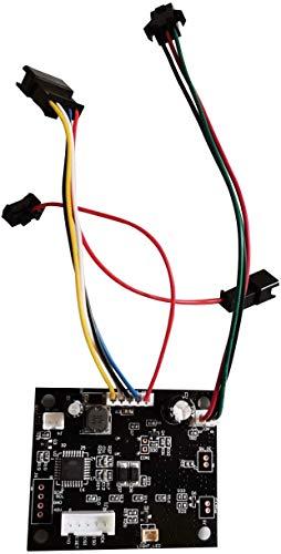 SPEDWHEL Mercane WideWheel - Patinete eléctrico original 2019, accesorios de gas, llaves y salpicadero