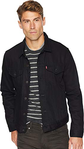 Levi's Mens The Trucker Jacket Polished Black LG