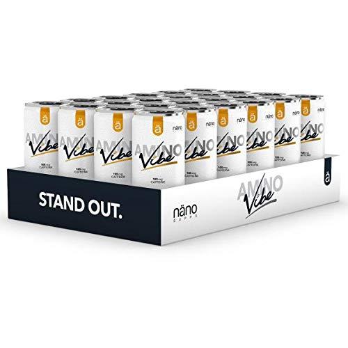 n?nosupps ä Amino VIBE Energy & Amino Drink, 24 x 330 ml Dose (Tropical Mango)