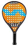 Varlion LW H ITSV Soft - Pala de pádel, Unisex Adulto, Naranja/Amarillo, 360-365 gr.