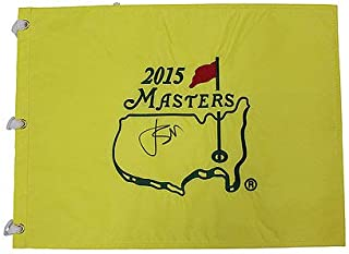Jordan Spieth Autographed Signed 2015 Masters Pin Flag