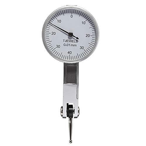MJJEsports 0-0.8 0.01 Precisie Hendel Wijzerplaat Test Indicator Gauge Draagbare Schaalmeter Tool