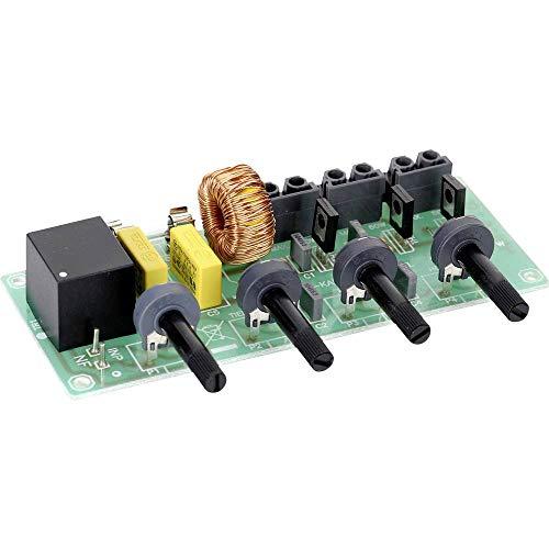 Conrad Components 116246 3-Kanal Lichtorgel Ausführung (Bausatz/Baustein): Bausatz 230 V/AC