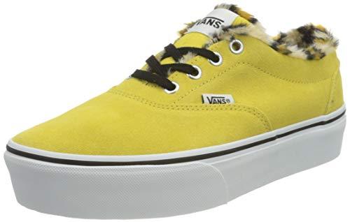 Vans Damen Doheny Platform Sneaker, Tier Creme Gold, 38.5 EU