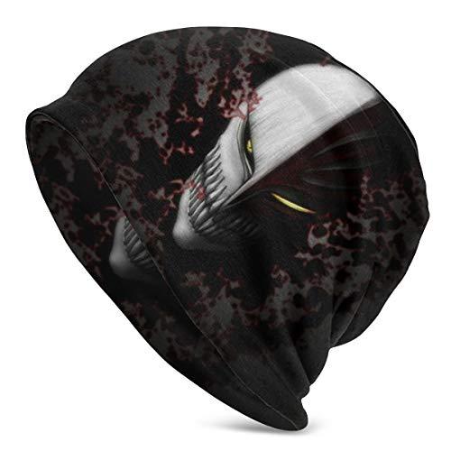 PHOEBE DOHERTY Bleach-Ichigo Mask Anime Style Knit Hat Unisex Beanie Skull Cap Warm Winter Hat Light and Breathable