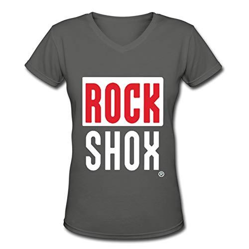 Rock Shox V-Neck Female Short Sleeve T Shirt