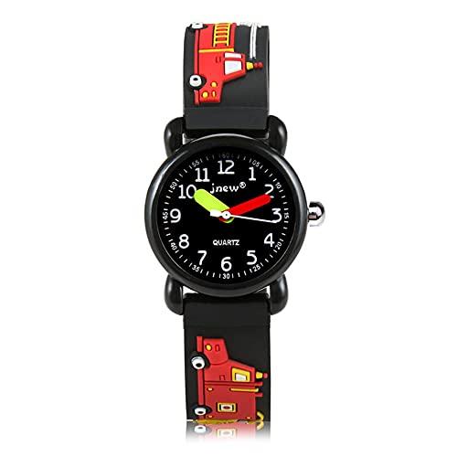 Kinder Uhr,Armbanduhr für Kinder Jungen und Mädchen,30M wasserdichte Analog Quarzuhr, 3D Cute Cartoon Uhr, Digitale Kinderuhr, Teaching Handgelenk Uhren mit Silikon Armband