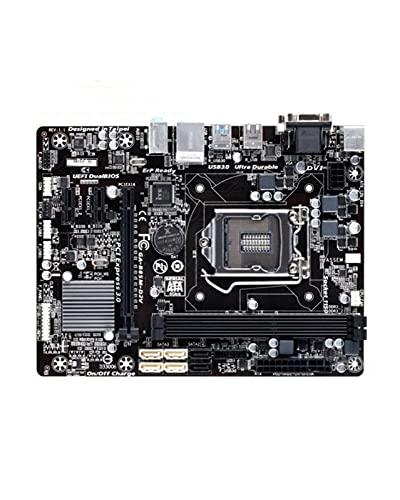 SIJI Placa Base de computadora Apta para Gigabyte GA-B85M-D2V b85 Socket lga 1150 i3 i5 i7 ddr3 16g Micro-ATX uefi bios Placa Base pc