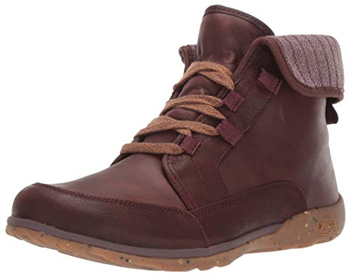 Chaco Women's Barbary Boot, Mahogany, 10.5 M US