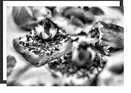 Picati gezonde snoepjes in schaduwvoegen fotolijst | kunstdruk op hoogwaardig galeriekarton | hoogwaardige afbeelding op canvas 100x70