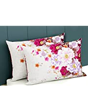 Jaipur Pride Polyester Digital Pillow Cover ( 17x26 Inch)