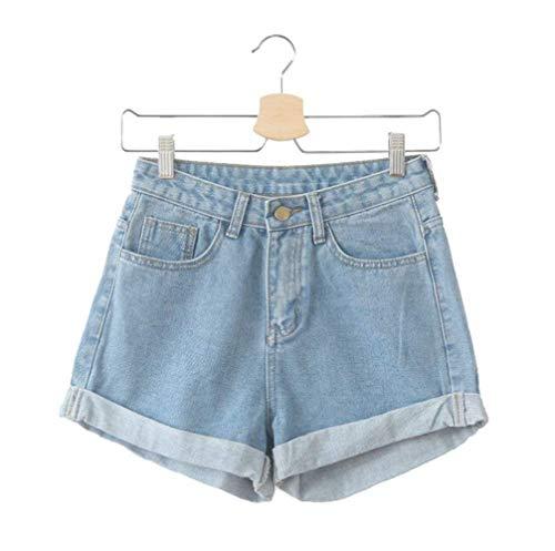 I Pantaloni Corti di di Estate Skinny Colore Solido delle Signore 2017 Bicchier
