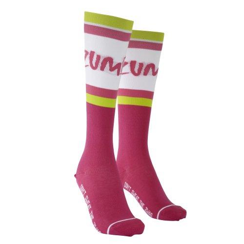 Zumba Fitness Damen Socken, Cut N Paste Purple, One Size