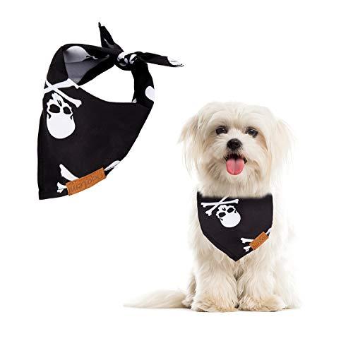 Hunde Bandana, Dreieck Kopftüche Waschbar Hundehalstuch Dreieckstuch für Kleine für Kleine Mittel Große Haustiere
