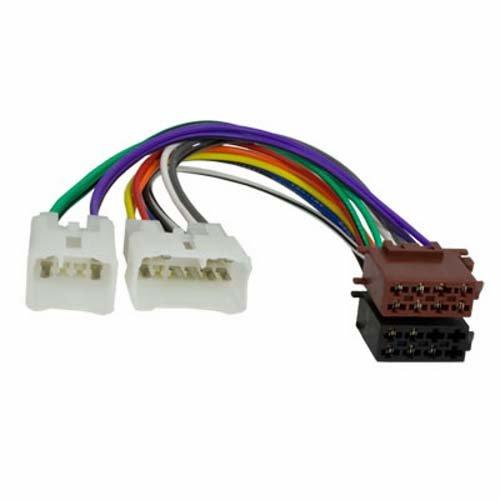 Baseline Connect câble Adaptateur pour autoradio iSO + 4 Hauts-parleurs