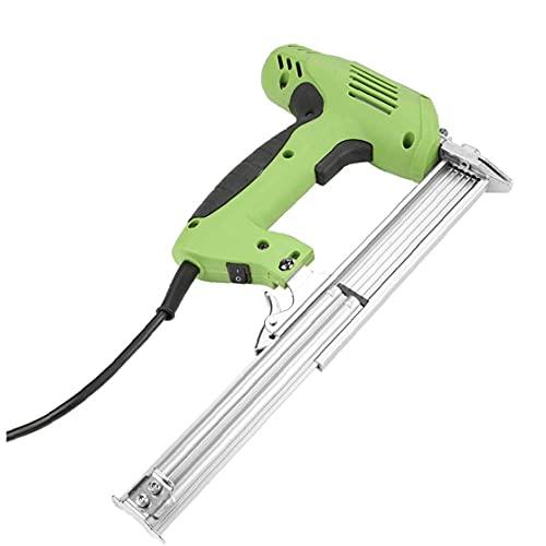 Clavadora Grapadora eléctrica Grapadora de la mano de clavado de grapas herramienta...