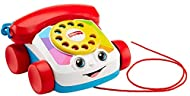 With Fisher-Price baby toys, baby can sit or walk and play with this fun telephone pull toy; toddlers can pull the phone toy along everywhere they go This toy phone has fun ringing sounds and eyes that move up and down; ideal for babies and great t...