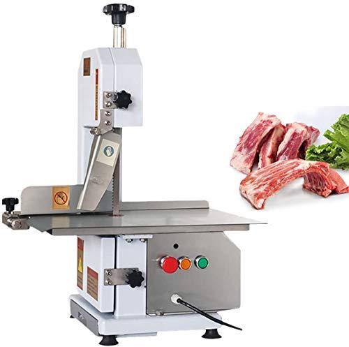 JIAWANSHUN Bone Cutting Machine Commercial Saw Bone Machine Electric Meat Fish Bone Cutter Machine 0-120mm (220V, 750W)