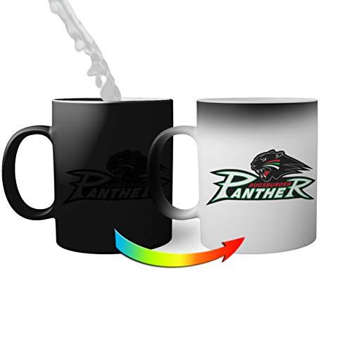 Ice Hockey Team Augsburger Panther Eishockey Magic Becher Becher für Kaffee Tee 330ml