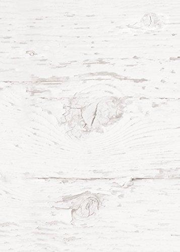 25 vellen briefpapier printpapier blanco oud wit hout-look aan beide zijden bedrukt 100 g schrijfpapier motief-papier DIN A4 brievenboog oud rustiek shabby vintage papier