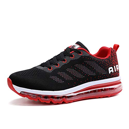 Monrinda Damen Sportschuhe Herren Laufschuhe mit Luftpolster Turnschuhe Sneakers Leichte Sport Schuhe Outdoor Trainers