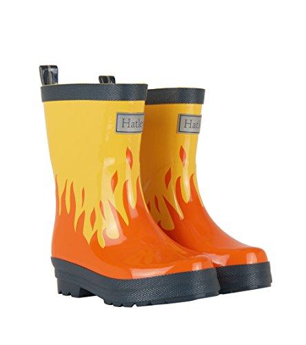 Hatley Lots of Fire Rainboots UK13